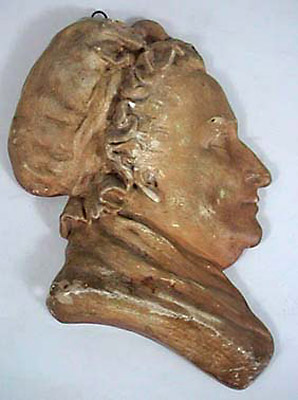 Relief Plaque, Martha Washington