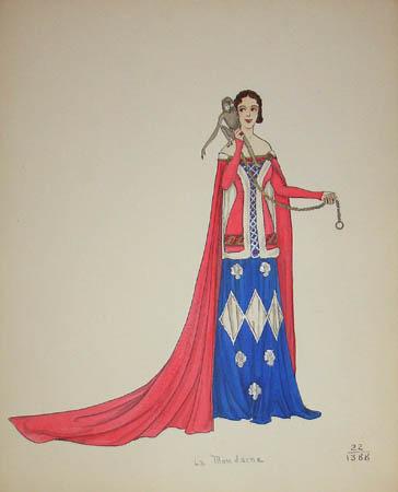 La Mondaine, 1388