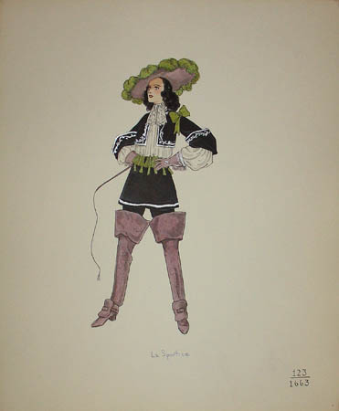 La Sportive, 1633