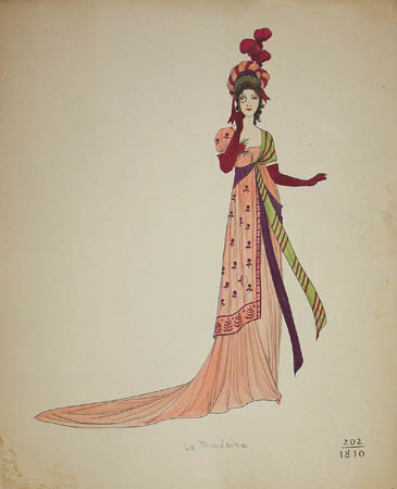 La Mondaine, 1810