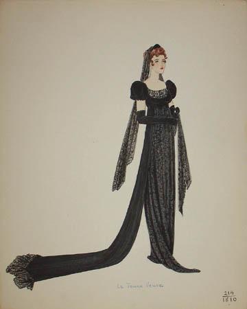 La Jeune Veuve, 1810