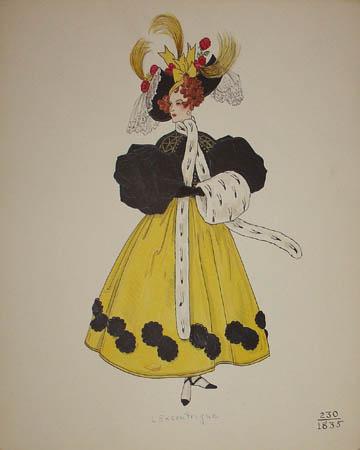 L'Excentrique, 1835