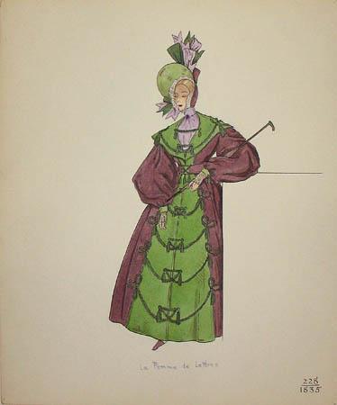 La Femme de Lettres, 1835