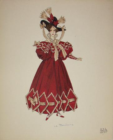 La Mondaine, 1835