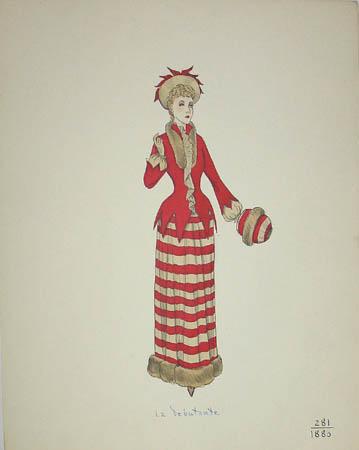 La Debutante, 1880