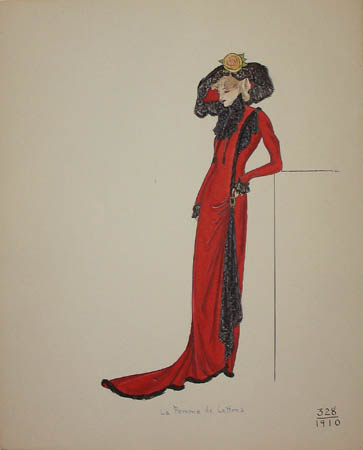 La Femme de Lettres, 1910