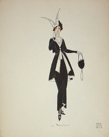 La Mondaine, 1913