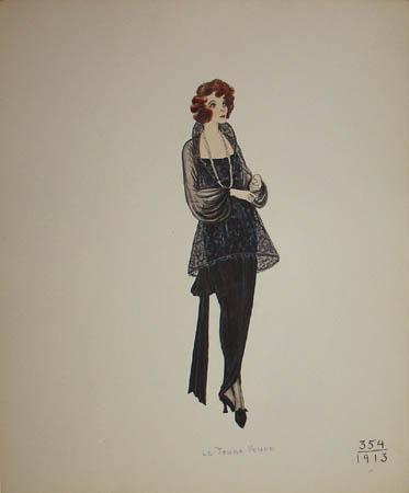 La Jeune Veuve, 1913
