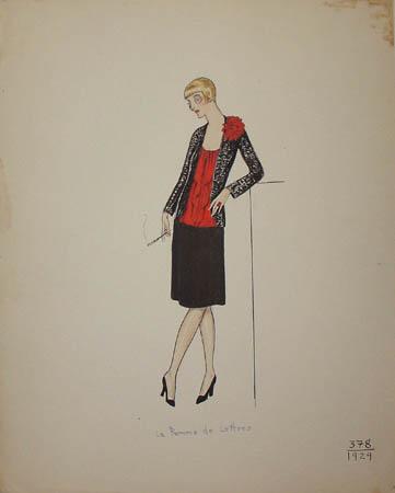 La Femme de Lettres, 1929