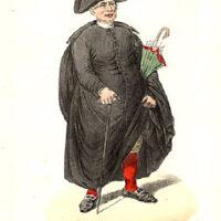 Il Seminarista in Vacanza, Genre Print of Seminarians