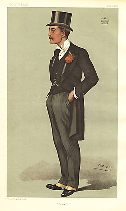 "Leslie ""Spy"" Ward Frome [Marques of Bath, Politician] 1896"