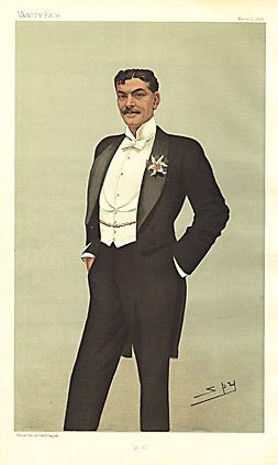 """Leslie """"Spy"""" Ward A.B. [Arthur Bourchier, Theatre] 1896"""