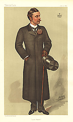 "Leslie ""Spy"" Ward South Bucks [Viscount Curzon, MP] 1896"