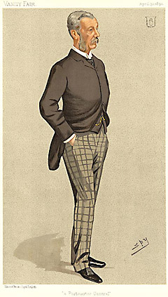 "Leslie ""Spy"" Ward A Postmaster General [Sir James Fergusson, Bart., Politician]"