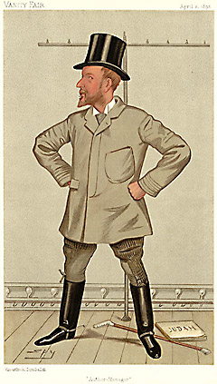 "Leslie ""Spy"" Ward Author-Manager [Henry Arthur Jones, Theater] 1892"
