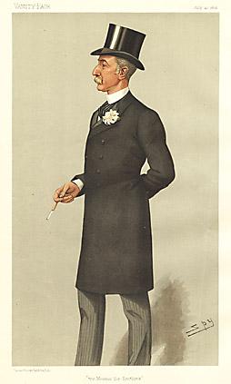 "Leslie ""Spy"" Ward The Member for Scotland [Sir Lewis McIver, Bart., MP Scottish Politician]"