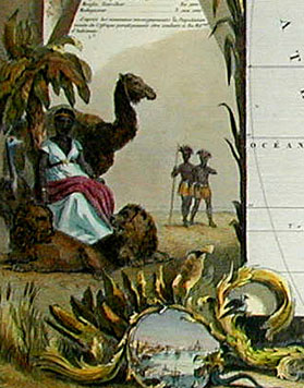 Afrique [Africa], detail