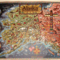 Pictorial Map, Alaska: Far North Frontier