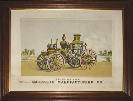 Steam Fire Engine -- Amoskeag Manufacturing Co.