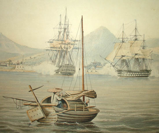 British Naval Capture of Amoy in 1841
