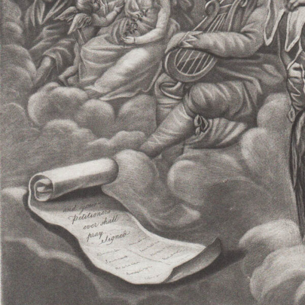 The Anacreontic Petition and Song, detail