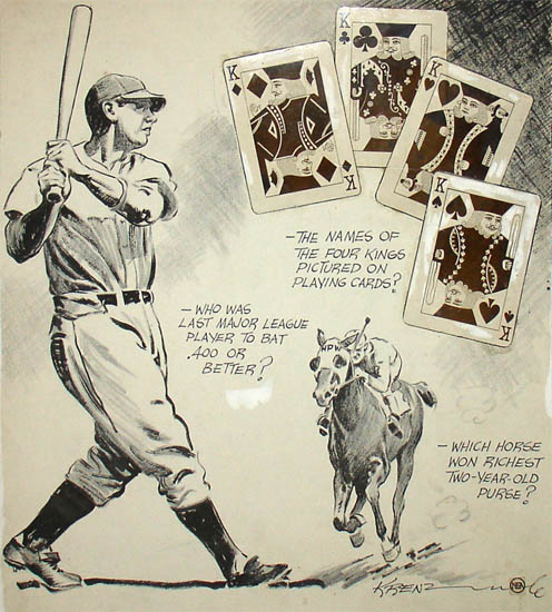 Baseball, Poker, and Thoroughbred Horse Racing