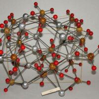 Molecular Model, Chemistry, Barite Mineral