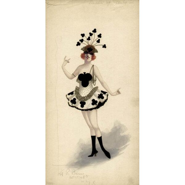 Queen of Clubs costume