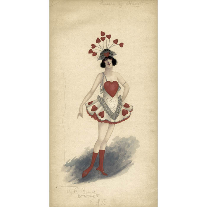 Costume Design Musical Will R Barnes Antique Watercolors Early 20th Century George Glazer Gallery Antiques
