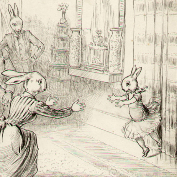 Culmer Barnes, Bunny Family, detail
