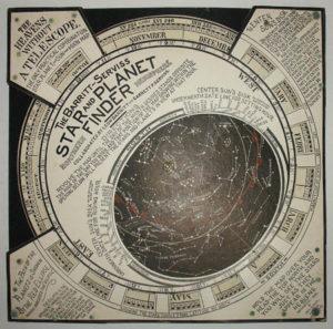 Planisphere, Rare Northern Hemisphere in Original Box
