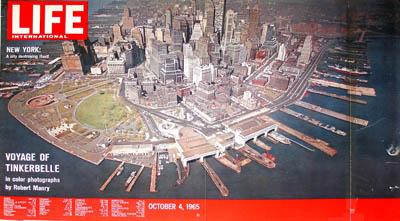 Lower Manhattan & Battery Park, published