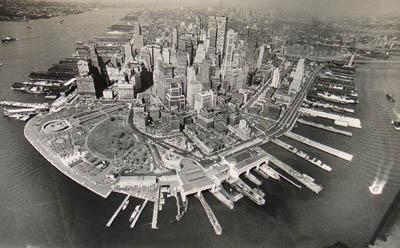 Lower Manhattan & Battery Park