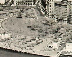 Lower Manhattan & Battery Park, detail