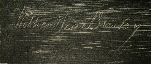 Signature in matrix