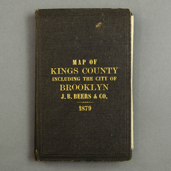 J.B. Beers & Company Map of Kings County Including the City of Brooklyn, cover