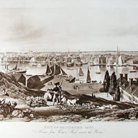 City of Baltimore in 1830