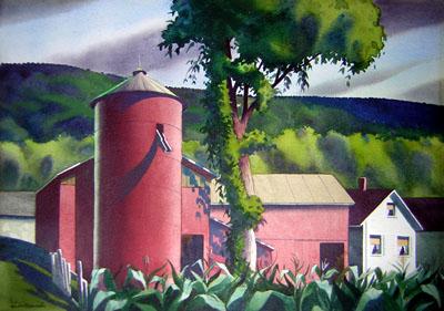 Rural Farm, Barn