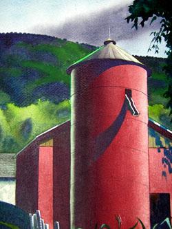 Rural Barn detail