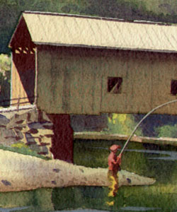Covered Bridge detail