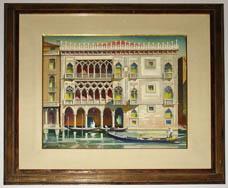 Ca d'Oro Venice framed