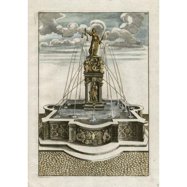 Böckler, Architecturea Curiosa Nova Pars Tertia, Plate 101