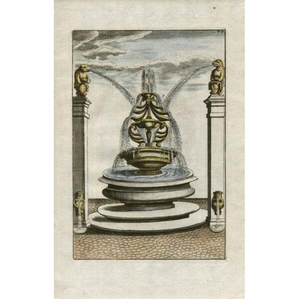 Böckler, Architecturea Curiosa Nova Pars Tertia, Plate 77