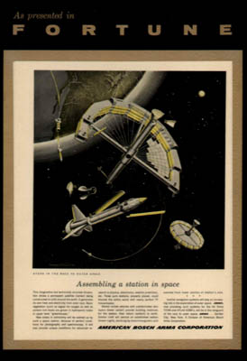 Fortune Magazine Space Vehicle Plaques