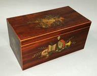 Boxes, Decorative Wooden, Tea Caddies and Other