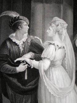 Cymbeline: Act I, Scene II, detail