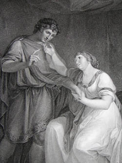 Troilus and Cressida: Act II, Scene II, detail