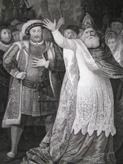King Henry the Eighth: Act V, Scene IV, detail