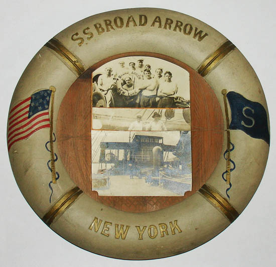 Souvenir of SS Broad Arrow, New York