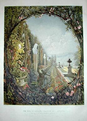 The Trellis Window, Trentham Hall Gardens
